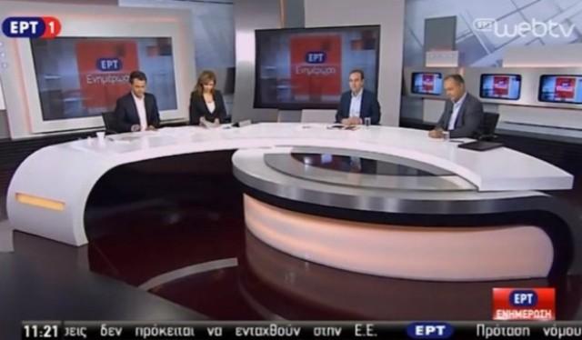 Ο Βασίλης Τσίρκας στην εκπομπή «ΕΡΤ Ενημέρωση» (19-10-2016)