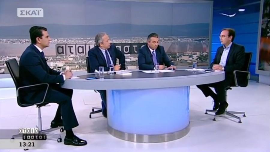 Ο Βασίλης Τσίρκας στην εκπομπή «Αταίριαστοι» (7-11-2017)